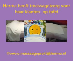 Herma in de zorg ©www.masssagepraktijkherma.nl